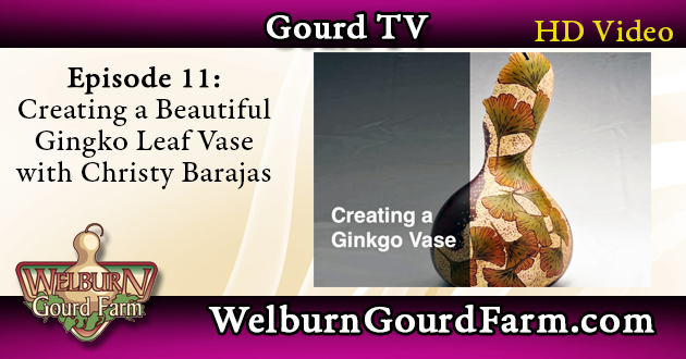 Episode 11: Creating a Beautiful Gingko Leaf Vase